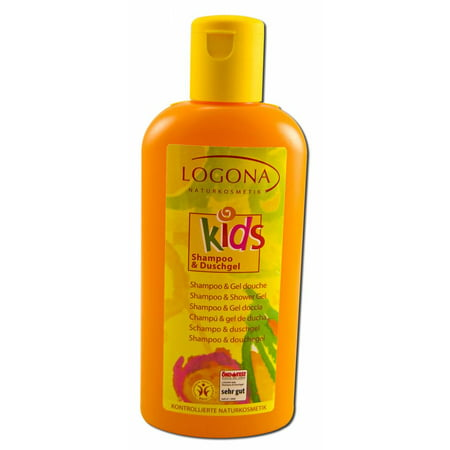 Logona - Kids Shampoo & Shower Gel, 6.8 oz
