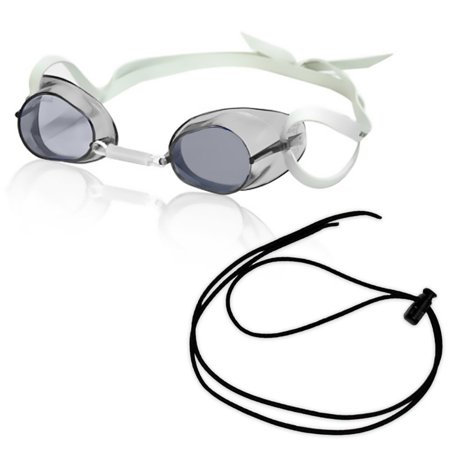 RISE Swedish Pro Mirrored Goggle w/Black Bungee in Clear ()