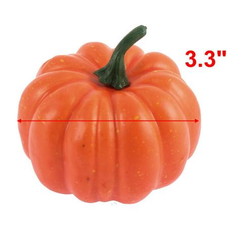 Maison Halloween No l Décoration Imitation Légumes Potirons artificiels en mousse - image 1 de 2