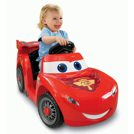 Power Wheels Lightning McQueen 6-Volt Battery-Powered Ride-On (Ages 12 mos - 3 years)
