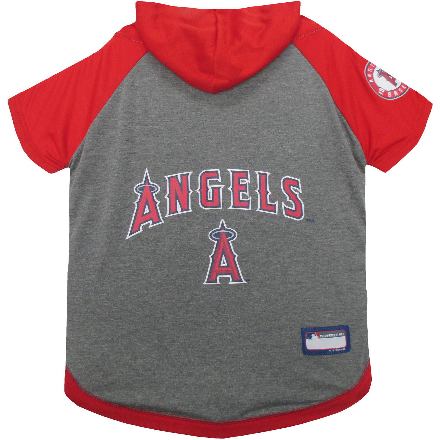 Pets First MLB Los Angeles Hoodie Tee Shirt by Pets First