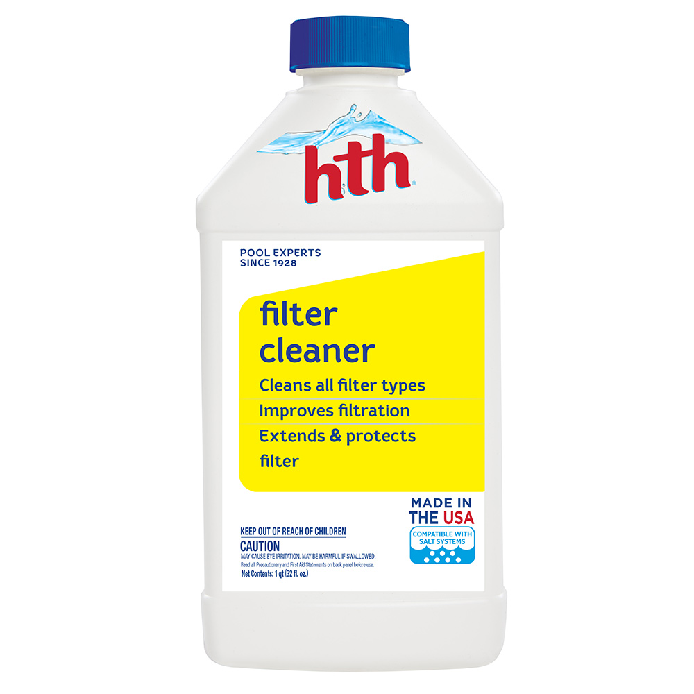 hth Pool Filter Cleaner, 32 fl oz