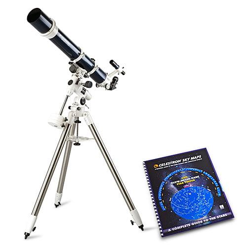 Celestron Omni XLT 102 with Skymaps Celestron Omni XLT 102 Telescope by Celestron