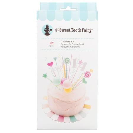 AC Sweet Tooth Fairy Cakefetti Kit, 28pc Tooth Fairy Kits