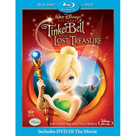Tinker Bell and the Lost Treasure (Blu-ray + DVD)](Tinker Ball)