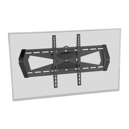 Fixed Tv Wall Mount Bracket With Anti Theft Feature Ul Certified  Max 88 Lbs 37 70 Inch   12988