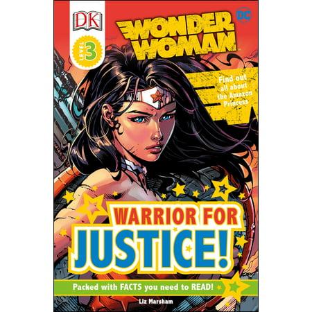 Wonder Woman Comic - DK Readers L3: DC Comics Wonder Woman: Warrior for Justice!