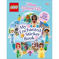 Ultimate Sticker Book: Lego Disney Princess My Enchanted Sticker Book (Paperback)