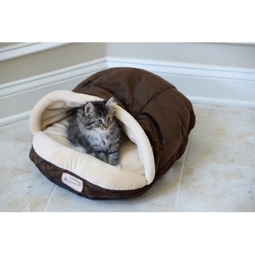 Armarkat Slipper Shape Pet Bed, Mocha, C05HKF/MH