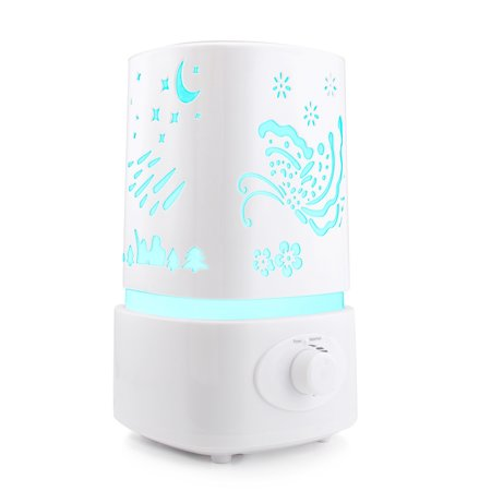 Ktaxon Ultrasonic Home Aroma Humidifier Air Diffuser Purifier Lonizer Atomizer,Essential Oil Diffuser, 1.5L ()