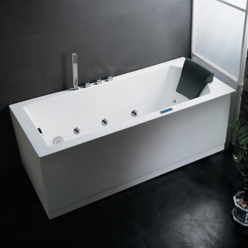 "Ariel AM154JDTSZ-L Platinum 59"" Whirlpool Bath Tub with R..."