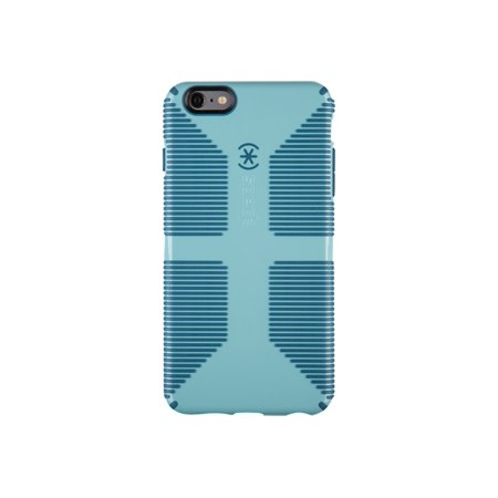 Speck CandyShell Grip - Back cover for cell phone - river blue, tahoe blue - for Apple iPhone 6 Plus ()