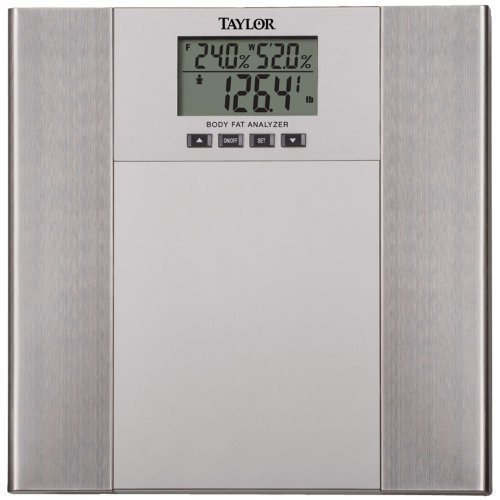 Gest Loser Stainless Steel Body Fat Scale By Taylor