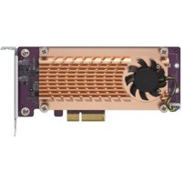 QNAP Dual M.2 22110/2280 PCIe SSD Expansion Card QM22P244A