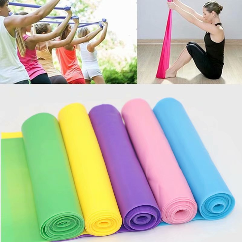 Resistance Bands Elastic Expander Stretch Exercise Rubber Band Fitness Strength