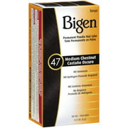 Bigen Permanent Powder Medium Chestnut 47 Hair Color, .21 Oz