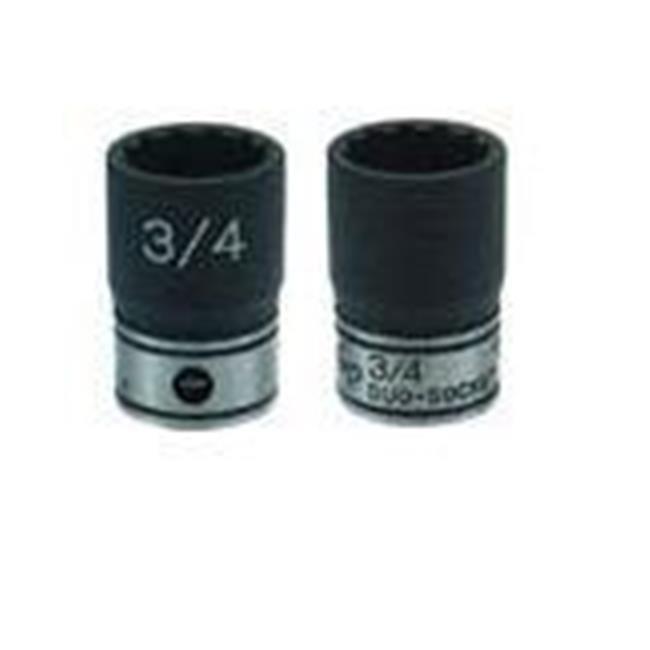 GRY-81014D 0.4 in. Drive x 0.43 in. Deep Length Duo-Socket