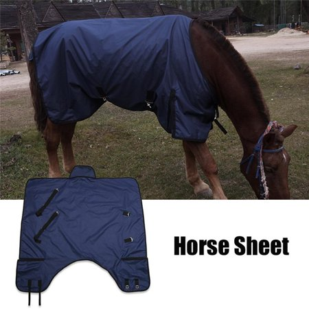 600D Horse Blanket, Lightweight Portable Horse Clothes Sheet, Water Prevention and Mosquito-Repellent Horse Sheet, Tear-Resistant Horse Rug, Riding (Best Uv Fly Mask For Horses)