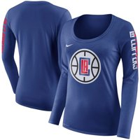 LA Clippers Nike Women's Primary Logo Long-Sleeve T-Shirt - Royal