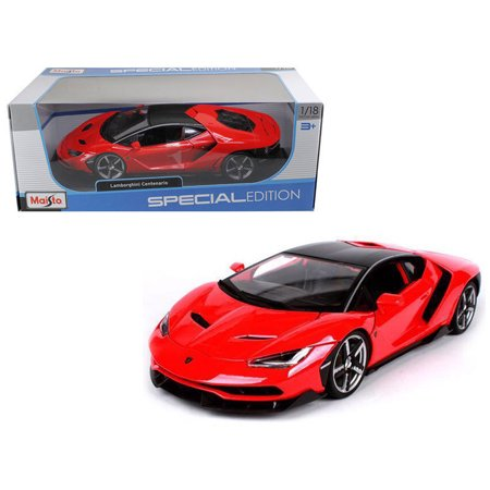 Maisto 1 18 Special Edition   Lamborghini Centenario Red Diecast Toy Car 31386Rd