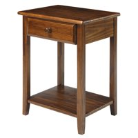 Casual Home Night Owl Nightstand with USB