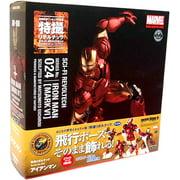 Marvel Sci-Fi Revoltech Iron Man Super Poseable Action Figure [Mark VI]