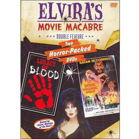 Elvira's Movie Macabre: Legacy Of Blood / The Devil's Wedding Night