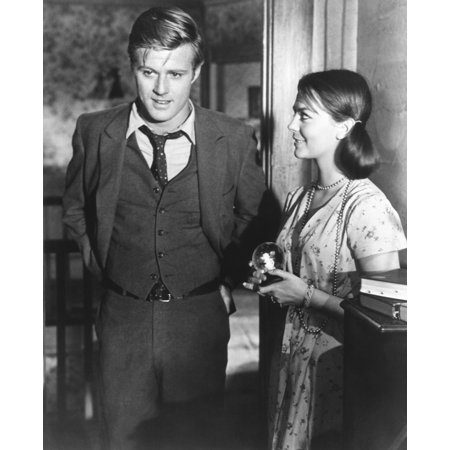 This Property Is Condemned From Left Robert Redford Natalie Wood 1969 Photo Print