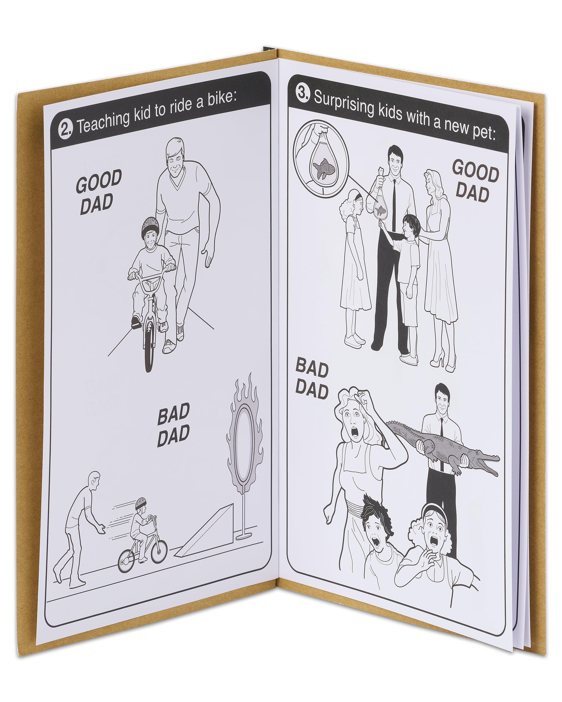 American Greetings Funny Good Dad Manual Fathers Day Card Walmart