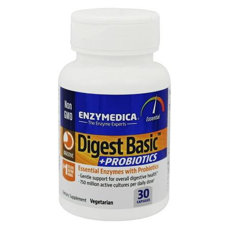Enzymedica - Digest de base + Probiotiques - 30 Capsules