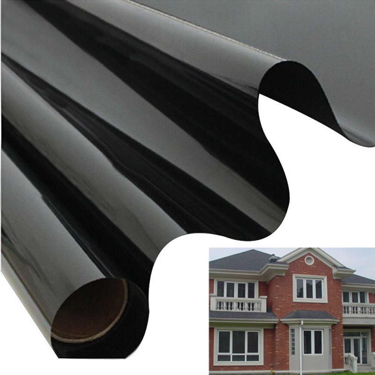 59''X20'' Residential DIY Window Film, No Adhesive Static ...