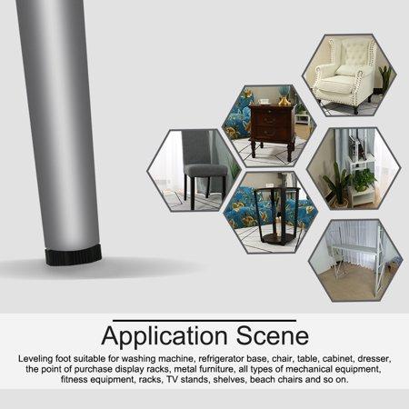 M8 x 18 x 36mm Leveling Feet Adjustable Leveler for Furniture Machine Leg 10pcs - image 6 of 7