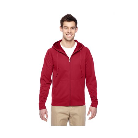 Jerzees Mens Sport Tech Fleece Hooded Sweatshirt  Style Pf93mr