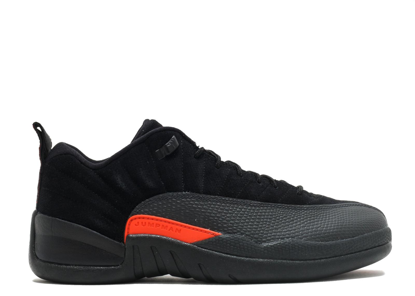 classic fit 18d93 f4fbc Air Jordan - Men - Air Jordan 12 Low Retro 'Max Orange' - 308317-003 - Size  9