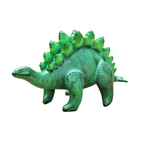 : Inflatable Stegosaurus Dinosaur 46 inch Long- Great for pool, party decoration, birthday for kids and adults by Jet Creations - Pool Decoration Ideas