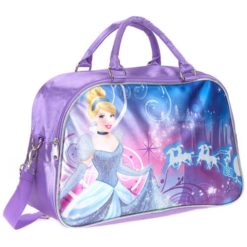 Cinderella Castle Purple Dance Duffel