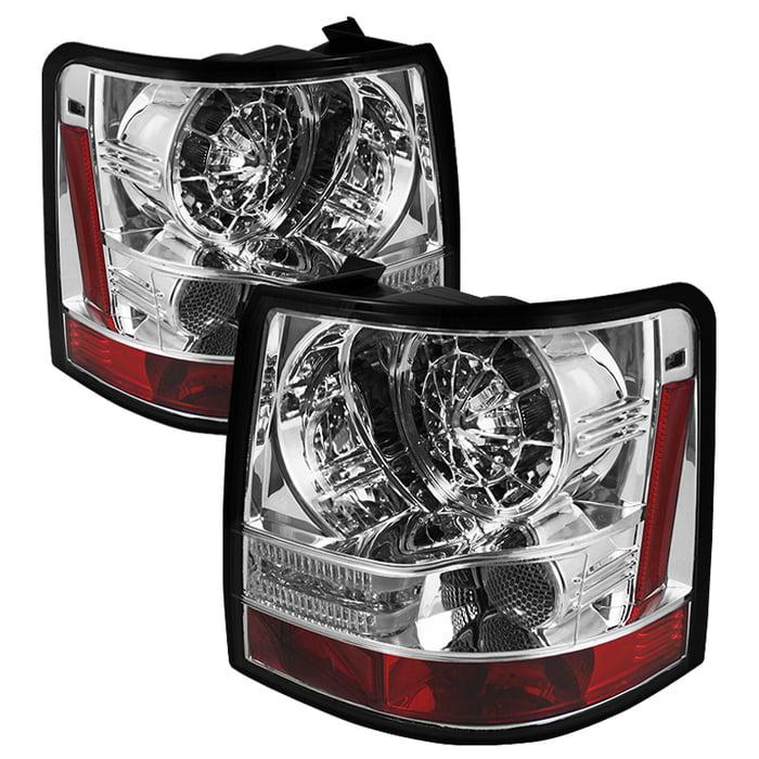 Spyder Land Rover Range Rover Sport 06-09 LED Tail Lights - Chrome