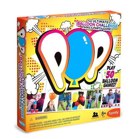 POP - The Ultimate Balloon Challenge Family Game, Team up with or compete against family & friends By Buffalo