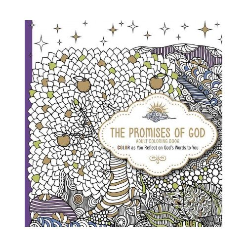 The Promises of God Adult Coloring Book: Color As You Reflect on God's Words to You