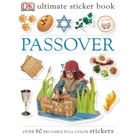 Ultimate Sticker Book: Passover : Over 60 Reusable Full-Color Stickers