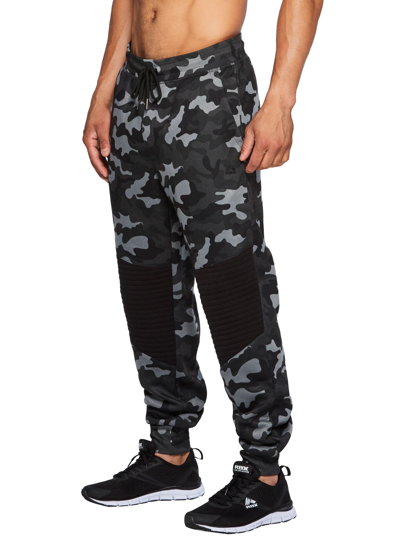 RBX Active Men's Jogger with Porkchop Pockets