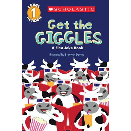 Scholastic Reader Level 1: Get the Giggles: A First Joke Book (Paperback) - Halloween Joke Book Printable