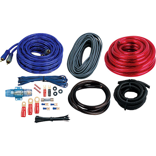 Boss Audio 4-Gauge Amplifier Installation Kit