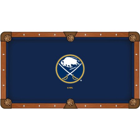 NHL 8' Pool Tablecloth by Holland Bar Stool Buffalo Sabres by