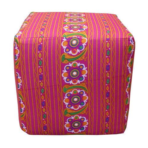 Divine Designs Paradise Cube Ottoman