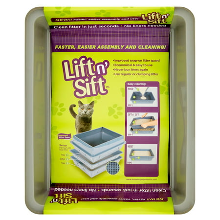 Lift N Sift Cat Litter Pan Pack Of 4 Best Cat Litter Boxes