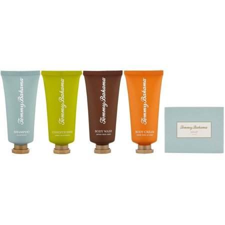 - Tommy Bahama Travel Set Shampoo, Conditioner, Body Cream, Body Wash, Soap