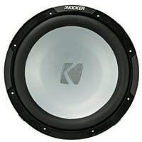 "Kicker KM124 (45KM124) 12"" KM Series Marine Subwoofer"