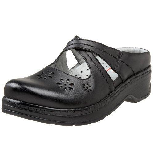 Klogs Carolina Women's Clogs Black Smooth by Latitudes Inc.