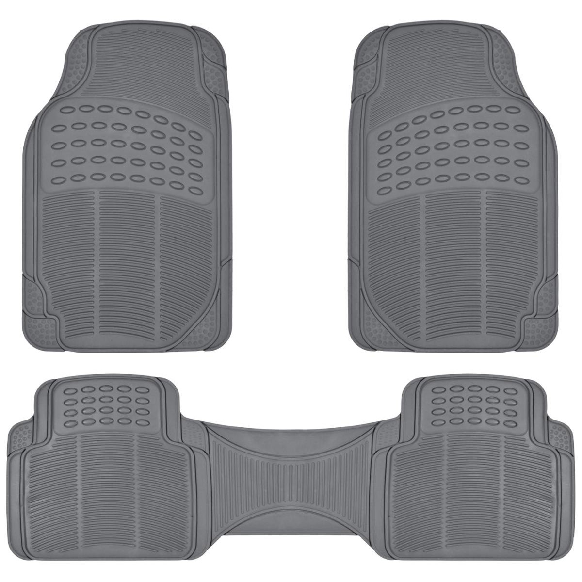 BDK 4pc Clear Car Floor Mats Rubber AAA Discounts and Rewards
